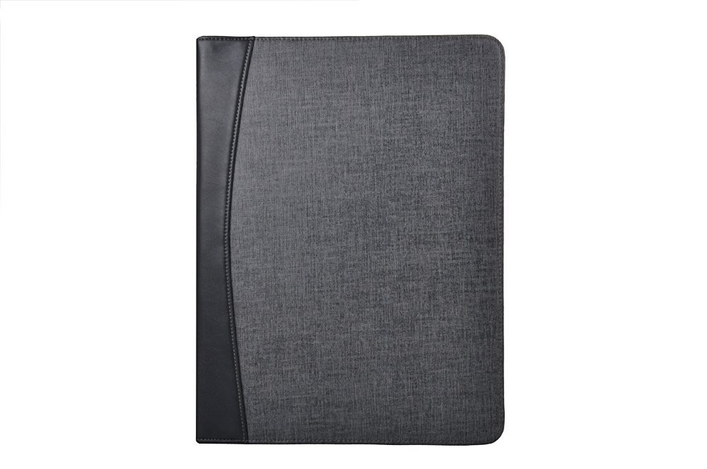 2016 High Quality Premium Linen-Look Organizer Folio with Calculator for 12.9-inch iPad Pro and Letter-Size Pape