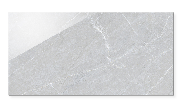 big size 1200x600 living room smooth grey full polished glazed tile 600 1200 large grey floor tiles