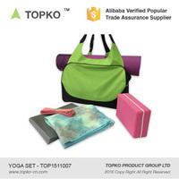 TOPKO Yoga Starter Kit Set - Include Exercise Yoga Mat, Yoga Blocks, Yoga Set