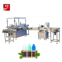 YB-YX4 100ml e-liquid machine automatic ejuice flavor filling line