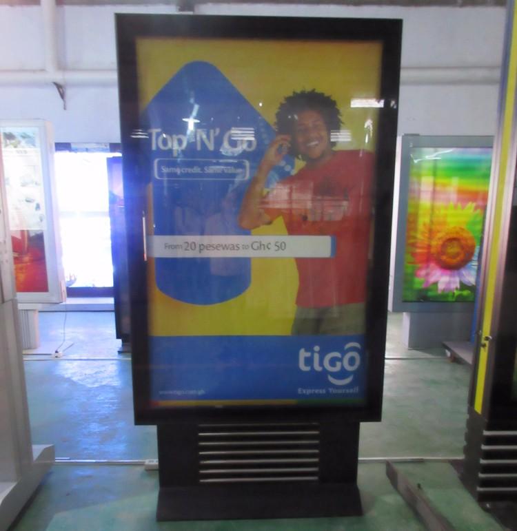 Outdoor backlit light box sign billboards outdoor advertising