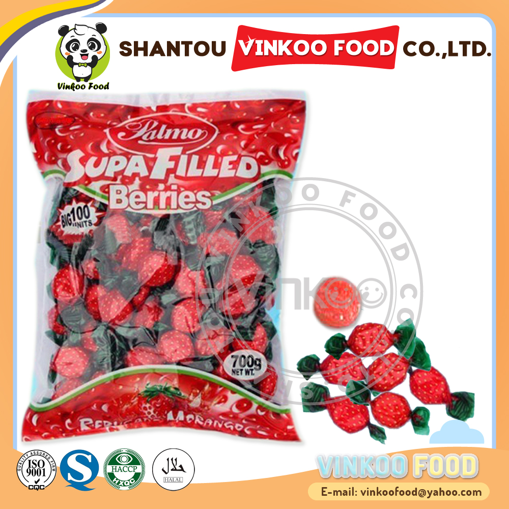 Africa 6g twisted strawberry types of candy sweet confectionery products