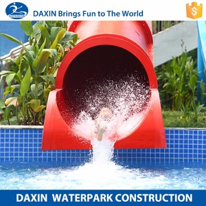 Daxin Lovely Wild Rapids Water Slides Outdoor Slide Indonesia