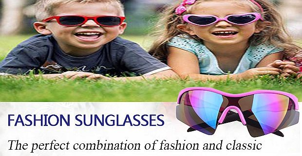 2016 New style kid sunglasses sport child sunglasses for outdoors