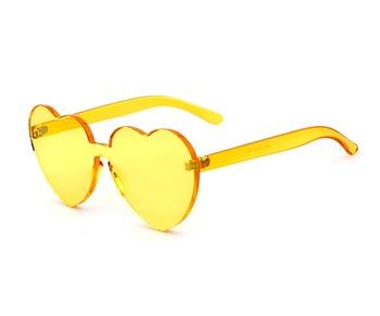 e9ee8c7c33665 2018 óculos de Sol Das Mulheres Óculos De Sol da Forma Do Coração Óculos ...