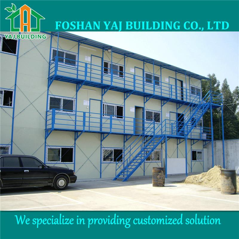 Fast build three storey staff house