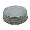 Hot Sales 70mm regular mouth vintage mason jar lid galvanized mason jar lid
