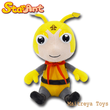 Plush Cartoon Animals Character Star Ant Stuffed Sitting Yellow Ant Jim Plush Doll Toys