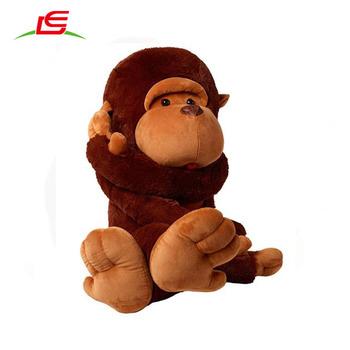 51in 130cm Customized Jumbo Giant Huge Stuffed Animal Teddy Monkey