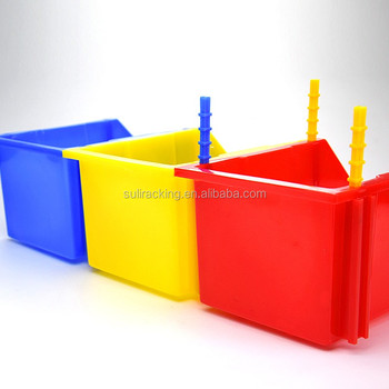 Stackable Storage Bins Plastic Small Container Organizer Parts Tray