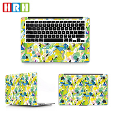 Geometrische Patroon Custom Sticker Full Body Laptop Skin Sticker voor <span class=keywords><strong>macbook</strong></span> Pro 15 Air Retina Skin Sticker A2141 A2159