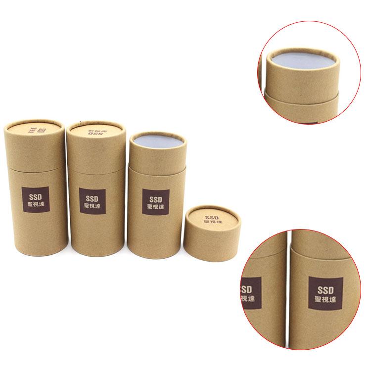 kraft tube emballage en gros de luxe ronde petite bo te ronde en carton bo tes boite th id de. Black Bedroom Furniture Sets. Home Design Ideas