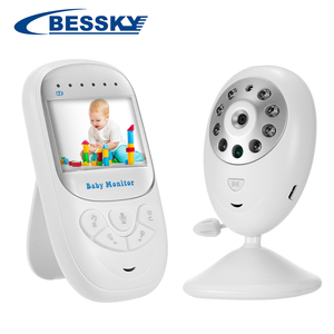 Built-in 8 lullabies 2.4inch TFT LCD screen Display Wireless Video Baby Monitor With Digital Camera night vision