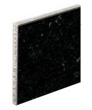 brazil-black Sheets Thin Aluminium Honeycomb Stone Panel
