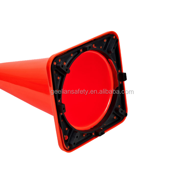 Barricade PVC 28 Inch flexible Traffic Safety Road Cones