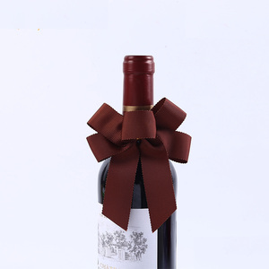 Decorative Wine Bottle Neck Ribbon Bows Tie Curly Gift Wrap Pull Bows