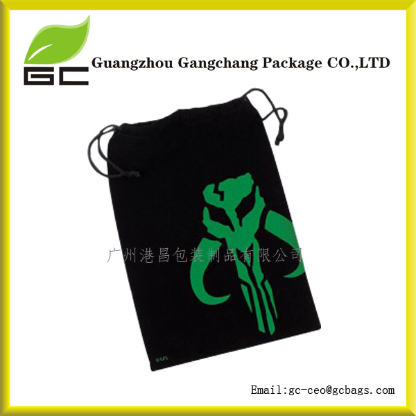 China Factory Custom Made Custom Large Velvet Drawstring Jewelry Bags