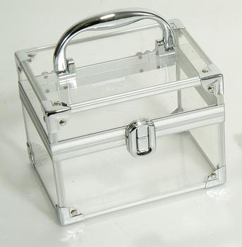 Clear Plastic Cosmetic Case - Buy Acrylic Cosmetic Case ...