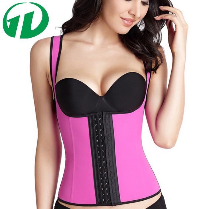 Greenday Factory Price 4 Colours 3 Hooks Underbust Colombian Cincher Latex Waist Trainer Corset