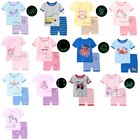 v-girl pajamas,boy pajamas glow in the dark unicorn kids pajamas
