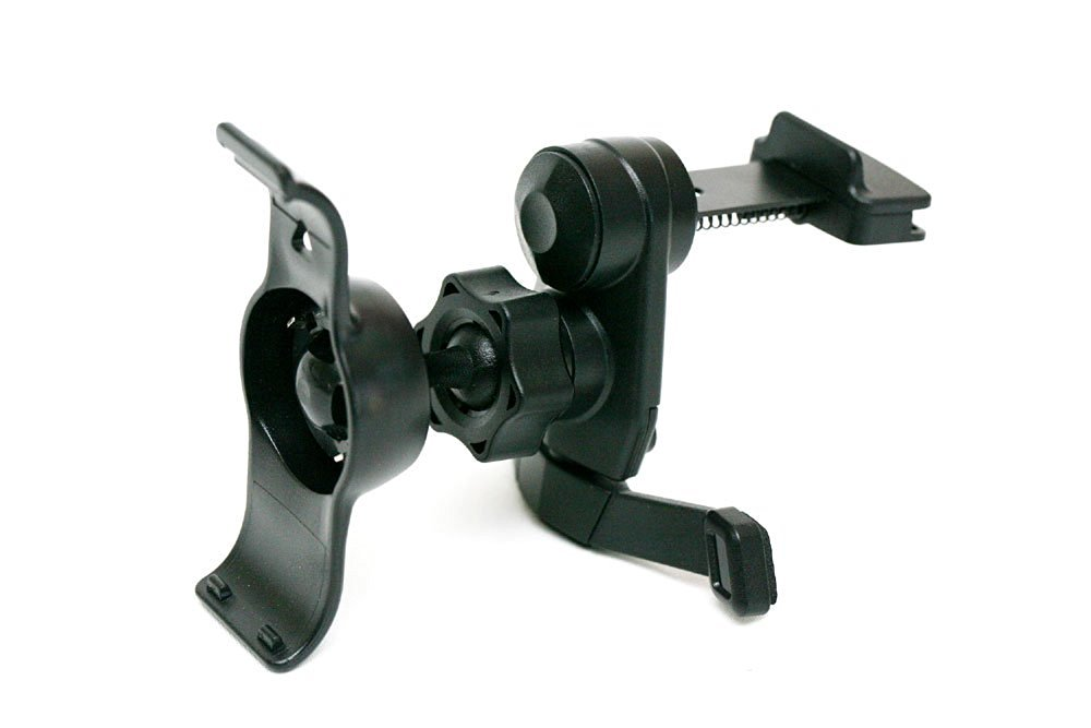 IG-A07+BKT40: i.Trek Garmin Nuvi 40 40LM GPS Air Vent Mount with Metal Spring Clip (Suitable for both horizontal & vertical AC Vents)