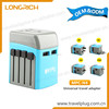 2014 Dual USB Travel Adapter Plug korea with CE &ROHS &UL certification(MPC-N4)