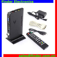 External Lcd Vga Pc Monitor Tv Tuner Box, built-in color television receivers