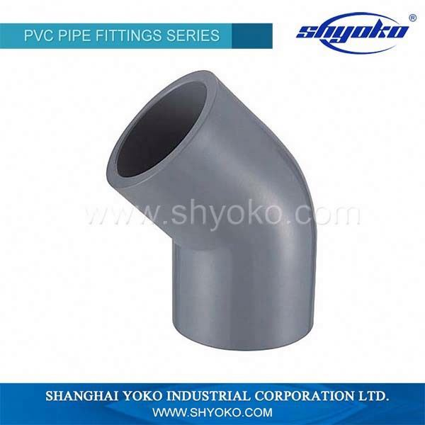 Wholesale high quality pipe fitting 22.5 degree elbow dimensions