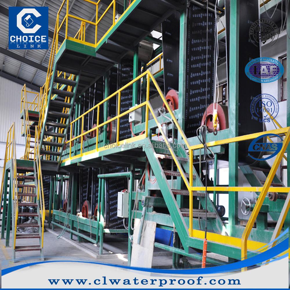 China Supplier Asphalt Membrane Production Machine