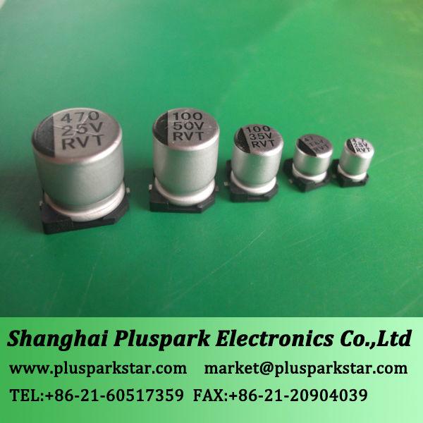Surface Mount Electrolytic Capacitor 47uf 16v Chip,105c,Standard ...