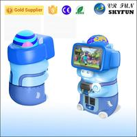 Adorable Hippo Piggy kid game machine 9d children virtual reality simulator