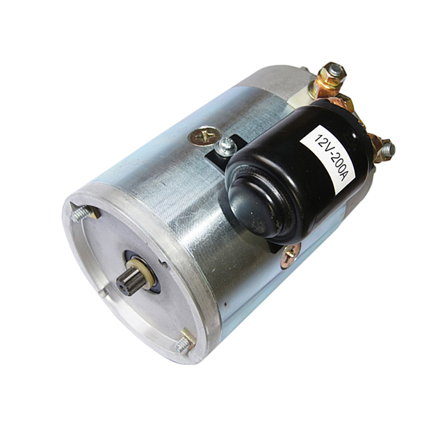 12V 1.5KW 24V 2.2KW Winter Service Hydraulic Vehicle Pump DC Motor