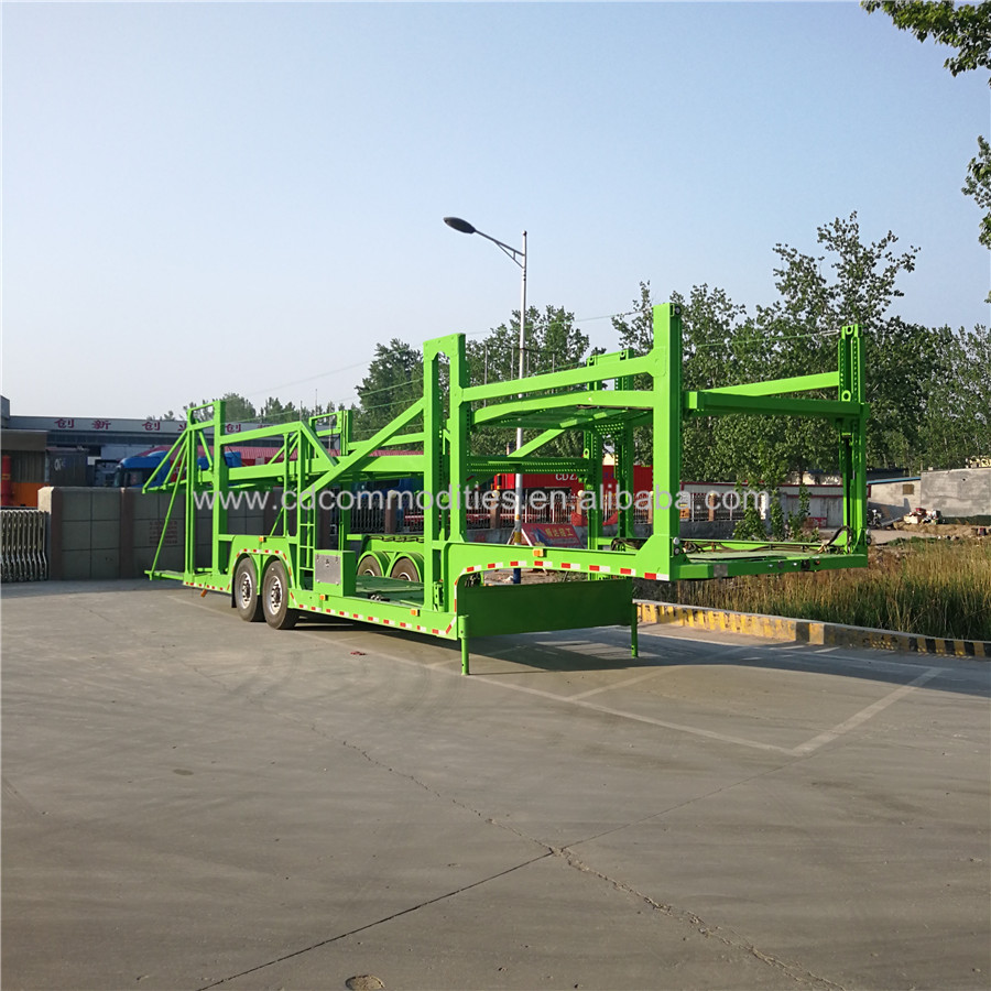 China factory cheap price 8-12 car carrier semi truck trailer in new condition