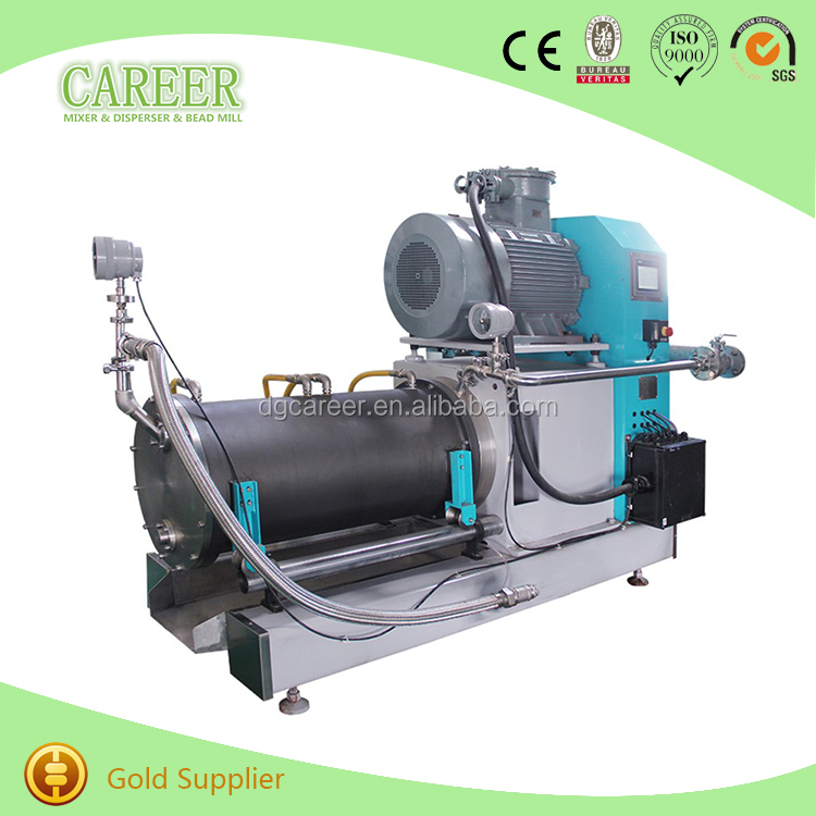 Horizontal Laboratory Paint Sand Grinding Mill