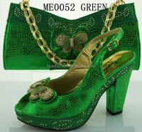China supplier shoes and matching bag set