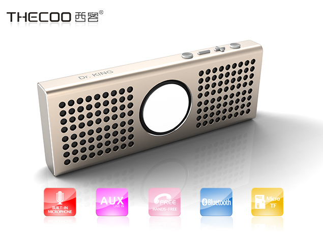 made by high tech speaker manufacturing machines, portable aluminum bluetooth speaker looking for retailers general merchandise