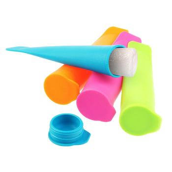 Silicone Ice Pop Makers Popsicles Push-Ups Juice Ice Cream Mold