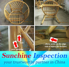 Products Inspection in Indonesia /Cane Furniture, Rattan Furniture, Wicker furniture Quality Inspection / Efficient QC Services