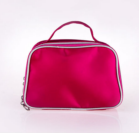 two compartments cosmetic bags for Women