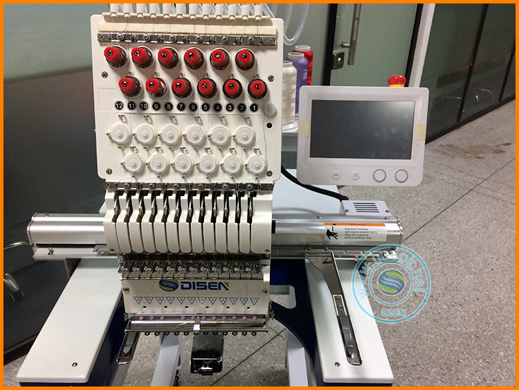 Cheap Factory Price tajima single head embroidery machine one