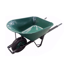 Heavy duty construction commercial wheelbarrow for garden use
