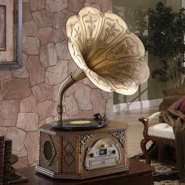 disque graphophone lecteur machine de vinyle usb ancienne classique de platines mp3 radio cd. Black Bedroom Furniture Sets. Home Design Ideas