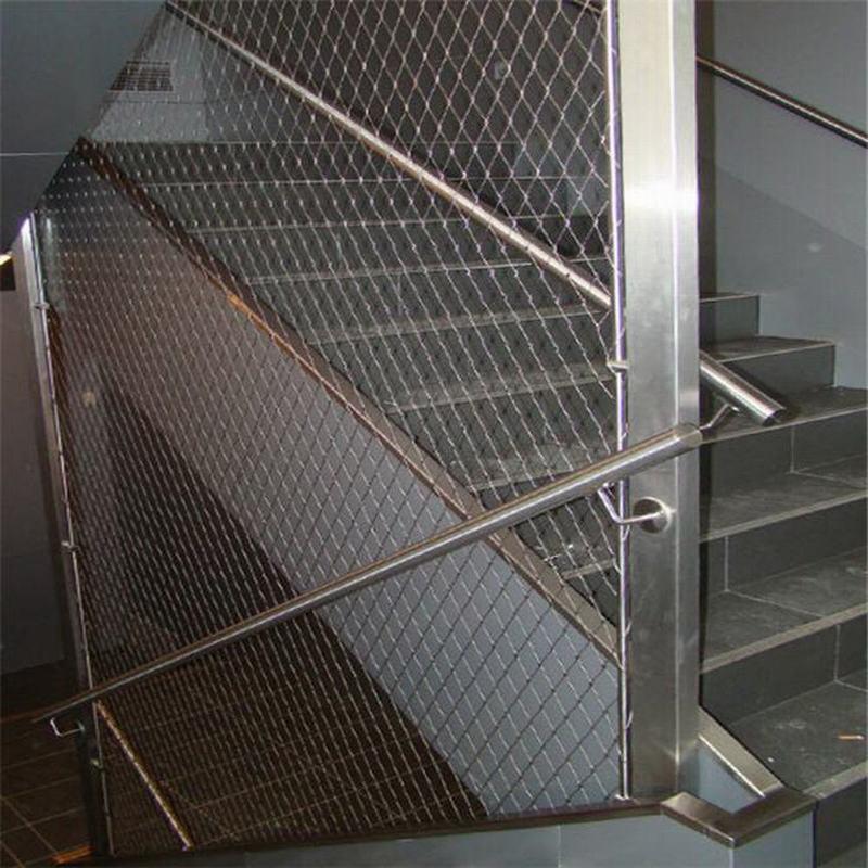 Fil D\'acier Inoxydable Corde Maille Pour Escalier Garde-corps De ...