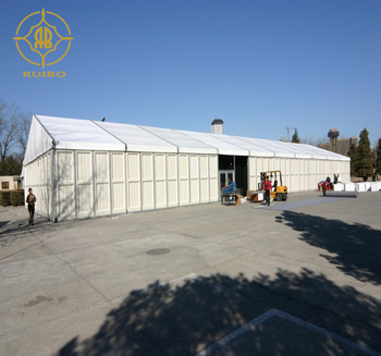 2018 Fair Event Tent With ABS Hard Wall membrane building