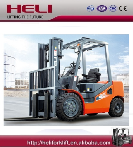 China Top1 Manufacturer HELI New H3 Series Gasoline 3 ton forklift truck price