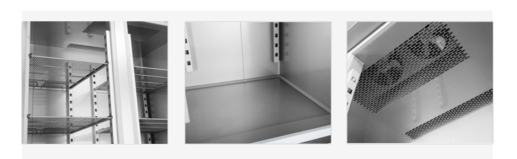 FURNOTEL Refrigeration Equipment Industrial Freezer 2 Glass Under Counter Refrigerator FRUC-7-1