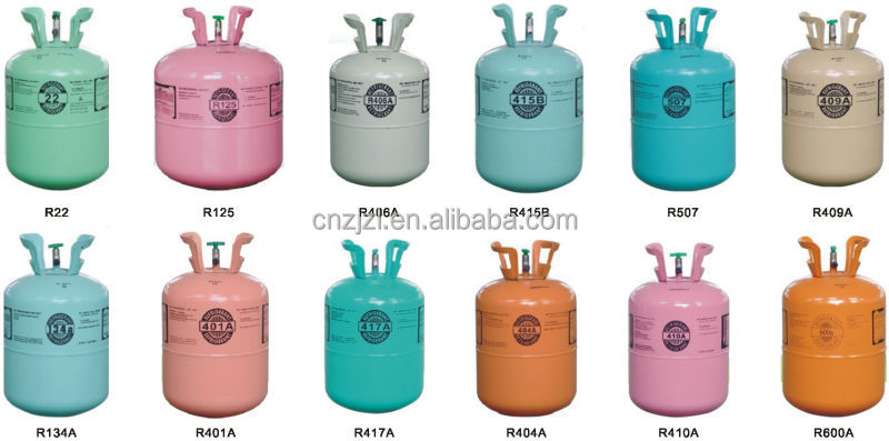 Resour Carrier Air Conditioning Refrigerant Gas