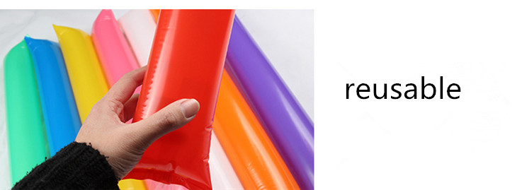 2018 World Cup Cheap multicolor splicing inflatable inflatable stick custom cheering clapper