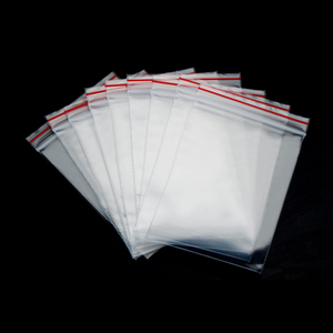 Low Price Transparent Clear Poly Bag with Suffocation Warning*