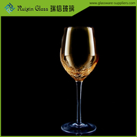 Creative champagne flute glassware,colorful champagne glasses